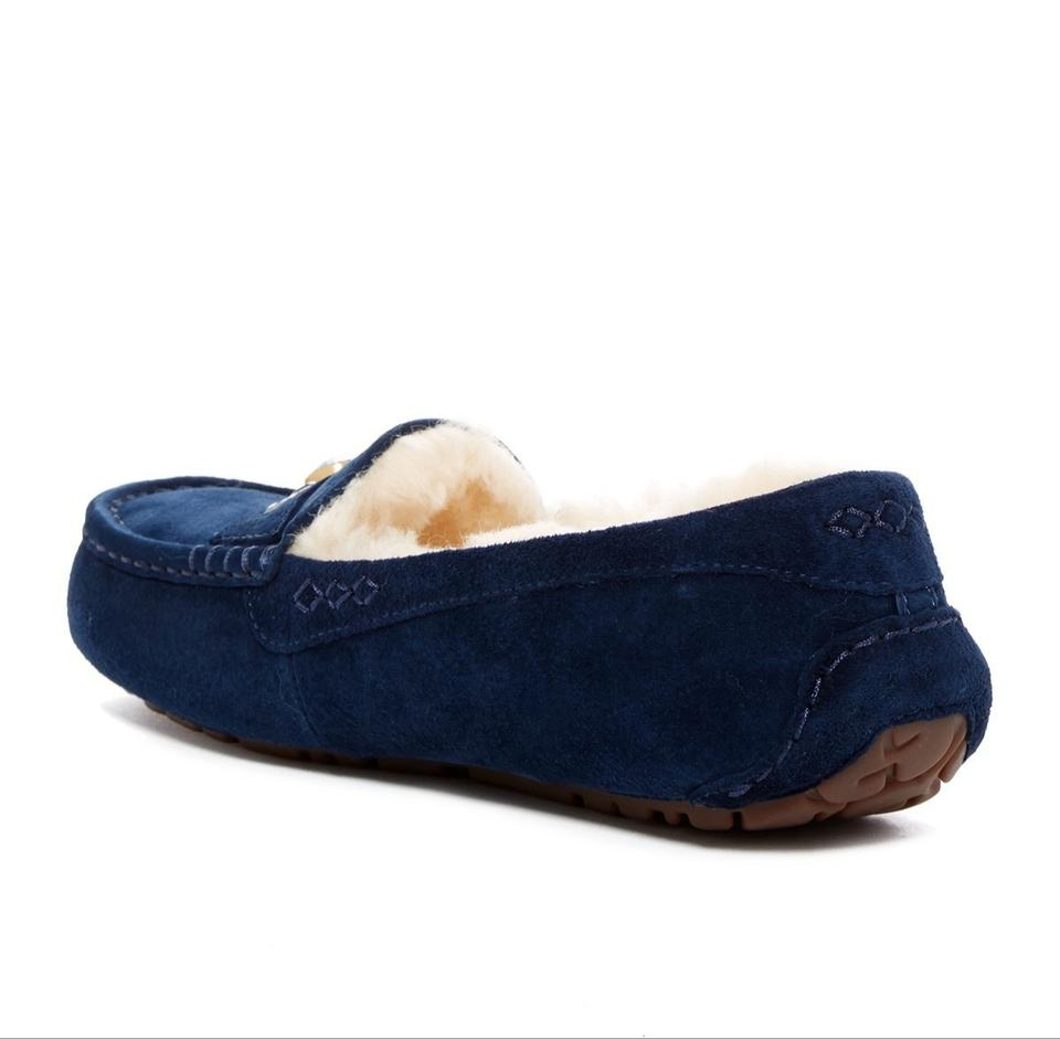 0581c03fd16 UGG Australia Exotic Blue New Ansley Chunky Crystal Moccasins Boots/Booties  Size US 9 Regular (M, B)