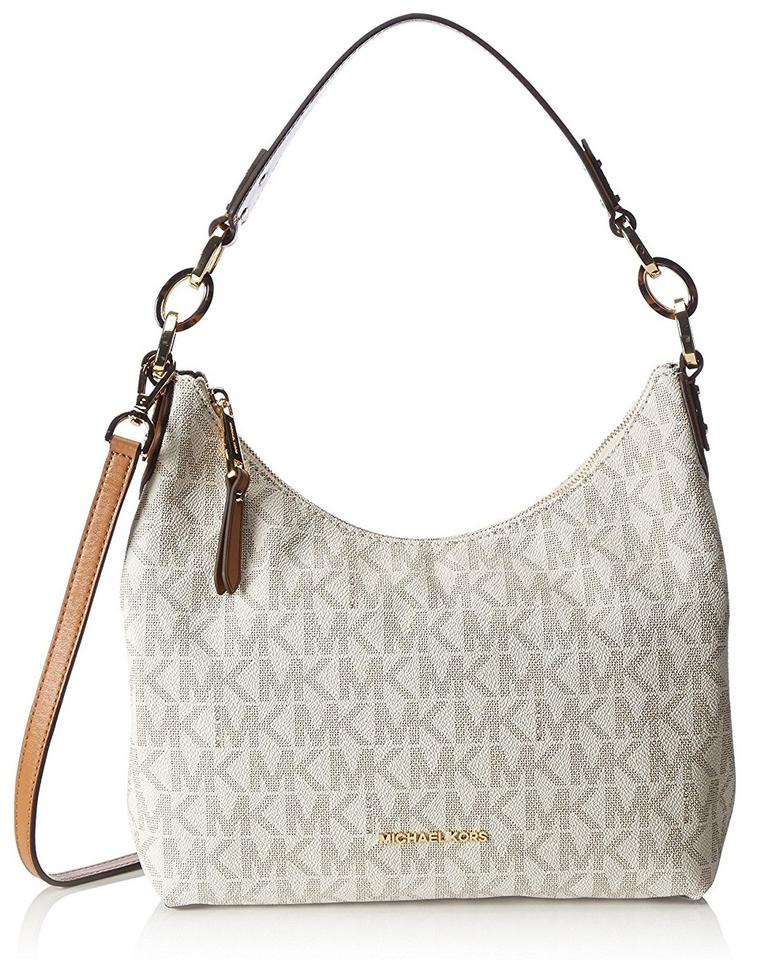 8128ae833713 Michael Kors Isabella Medium Convertible Shoulder 30s6girl2b Leather Hobo  Bag Image 0 ...