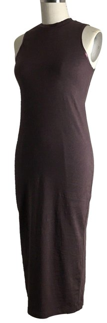 michael stars Ruched Ruched Jersey Ruched Midi Dress Image 0