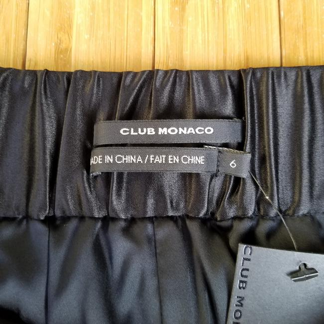 Club Monaco #miranda #silk #satin Mini Skirt Black Image 2