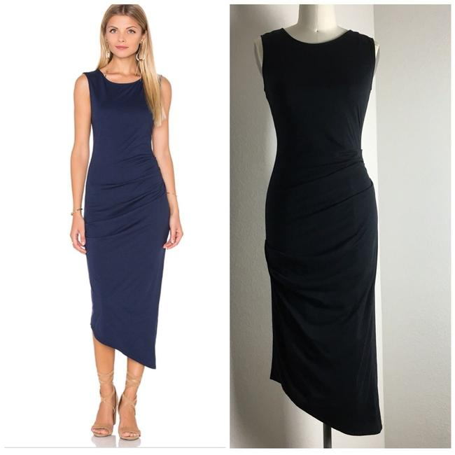 michael stars Ruched Ruched Jersey Ruched Midi Dress Image 1