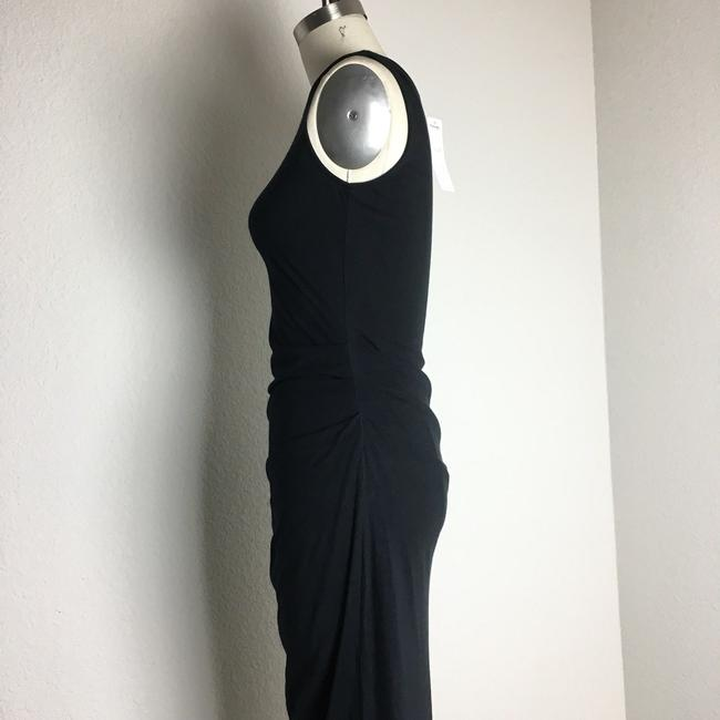 michael stars Ruched Ruched Jersey Ruched Midi Dress Image 4