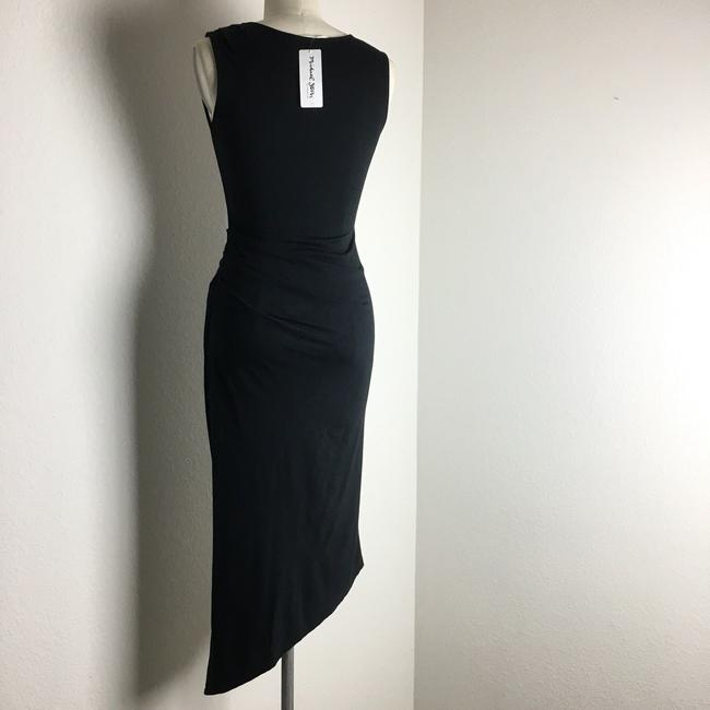 michael stars Ruched Ruched Jersey Ruched Midi Dress Image 5