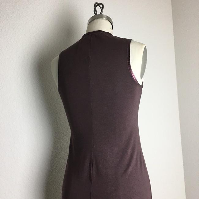 michael stars Ruched Ruched Jersey Ruched Midi Dress Image 7