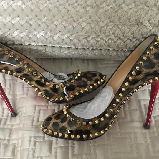 Christian Louboutin leopard Boots Image 5
