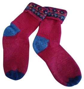 northwest express Hand knitted wool socks from Nepal