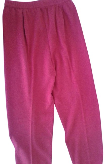 Preload https://img-static.tradesy.com/item/24571839/red-cashmere-pants-size-6-s-28-0-2-650-650.jpg