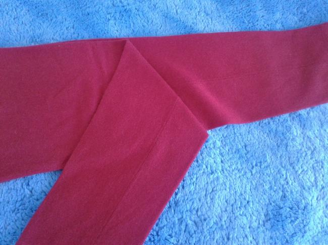 mariele waithe Like New Cashmere Soft Warm And Cozy Made In China Trouser Pants red Image 1