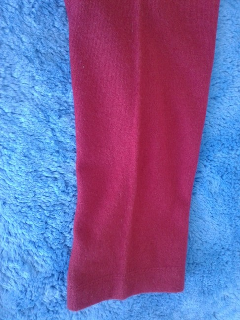 mariele waithe Like New Cashmere Soft Warm And Cozy Made In China Trouser Pants red Image 3