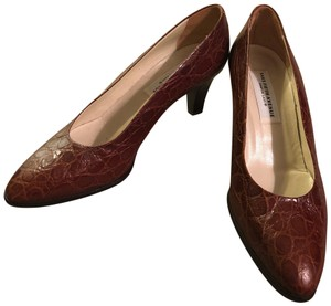 Saks Fifth Avenue brown Pumps