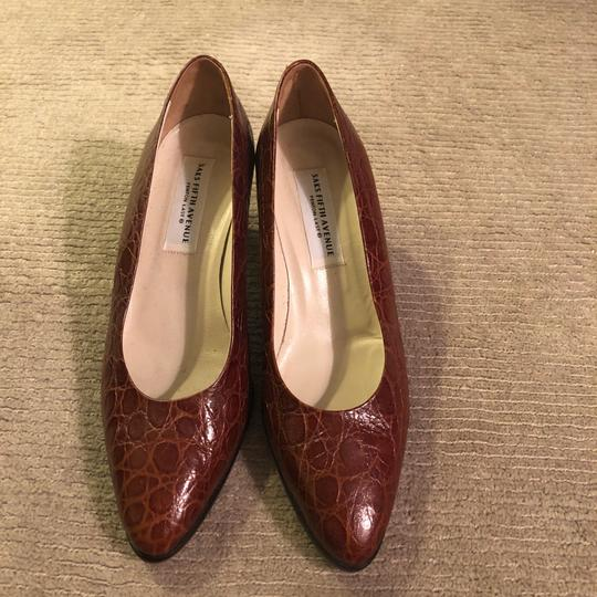 Saks Fifth Avenue brown Pumps Image 1