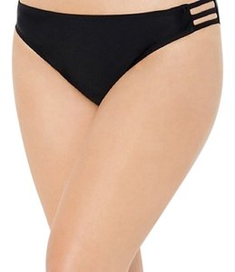 Swimsuits For All BLACK TRIPLE STRING BIKINI BRIEF