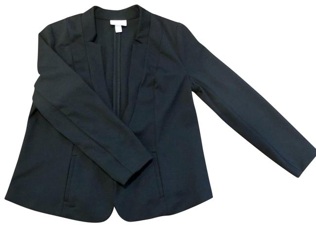 Preload https://img-static.tradesy.com/item/24571897/pure-energy-black-open-front-career-jacket-1x-blazer-size-20-plus-1x-0-1-650-650.jpg