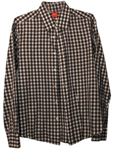 Boss by Hugo Boss Button Down Shirt grey and white