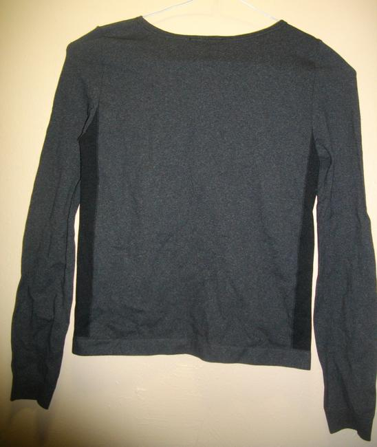 Emilio Cavallini Side Spandex Panels Pullover Long Sleeves Top Black Image 5