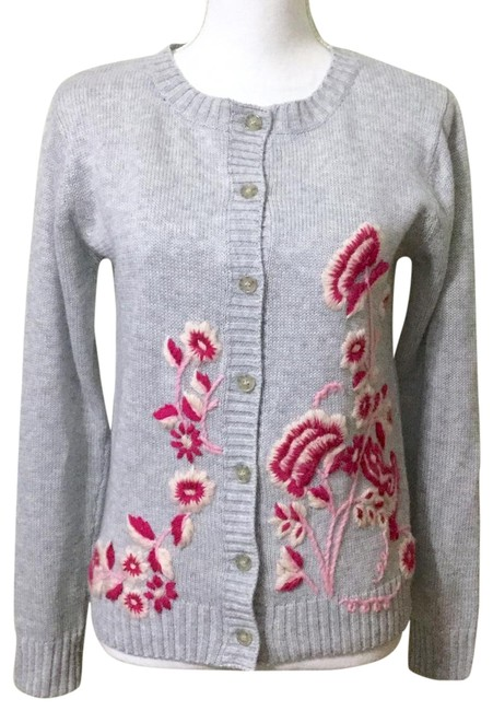 Preload https://img-static.tradesy.com/item/24572119/forever-21-grey-and-pink-floral-crewel-embroidered-cardigan-size-4-s-0-1-650-650.jpg