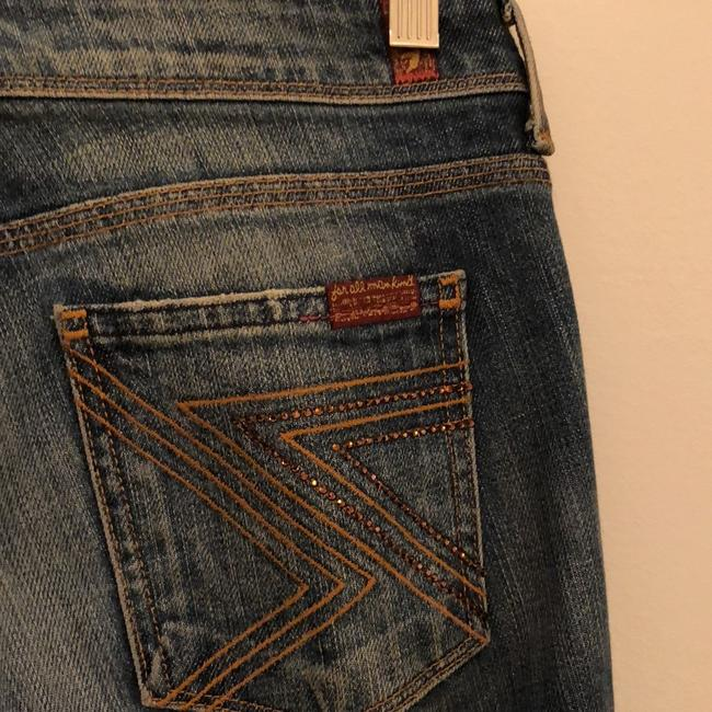 7 For All Mankind Flare Leg Jeans-Medium Wash Image 2