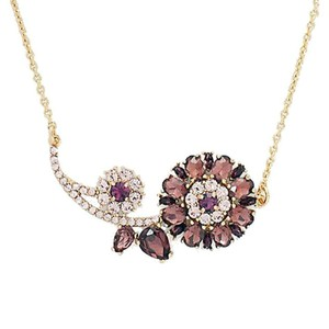 Kate Spade Trellis Blooms Mini Pendant Necklace