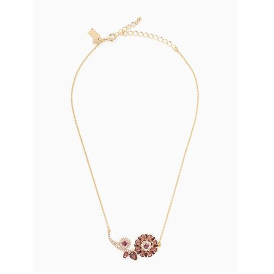 Kate Spade Trellis Blooms Mini Pendant Necklace Image 1