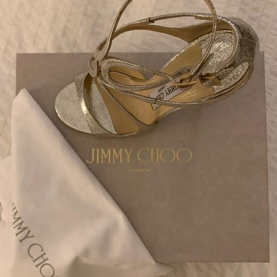Jimmy Choo Champagne Formal Image 5