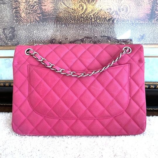 Chanel Classic Jumbo Double Flap Caviar Shoulder Bag Image 1