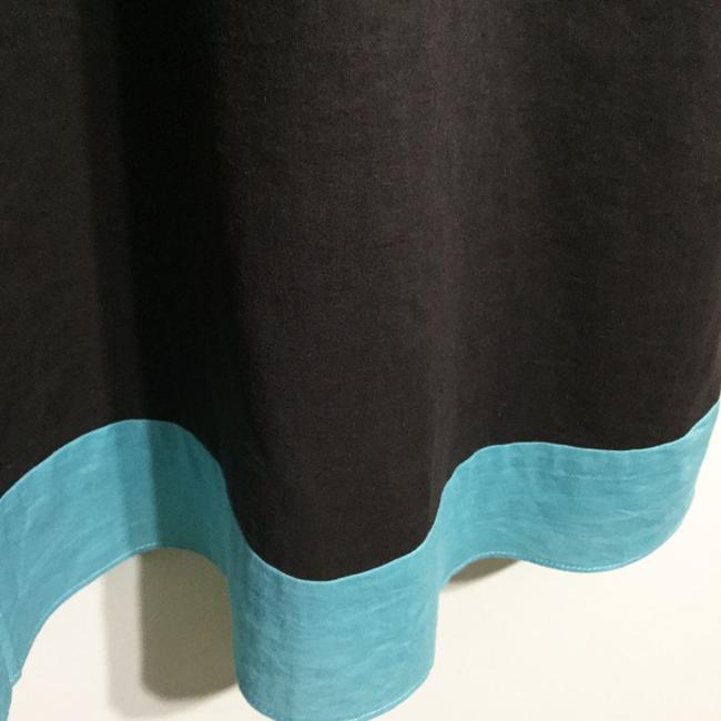 Ann Taylor LOFT short dress Brown & Turquoise Sundress Strapless Party Cotton on Tradesy Image 3