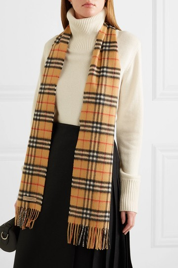 Burberry Checked cashmere scarf Image 1