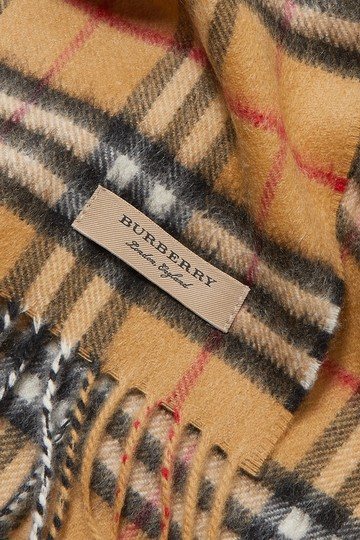 Burberry Checked cashmere scarf Image 3