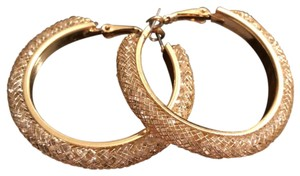 Other New Meshed Crystals Hoops