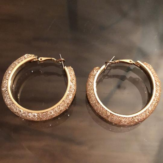 Other New Meshed Crystals Hoops Image 1