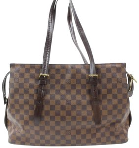 Louis Vuitton Columbine Luco Neverfull Vavin All-in Tote in Brown