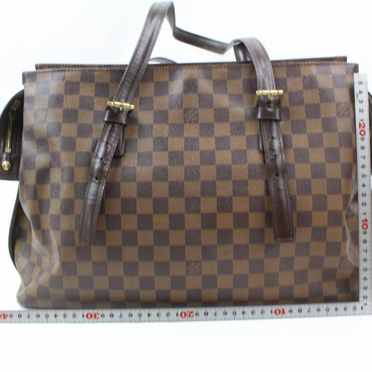 Louis Vuitton Columbine Luco Neverfull Vavin All-in Tote in Brown Image 5