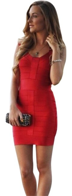 Preload https://img-static.tradesy.com/item/24572713/french-connection-red-spotlight-bandage-bodycon-short-night-out-dress-size-0-xs-0-1-650-650.jpg