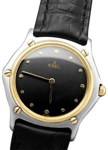 Ebel Ebel Classic Wave Mens Unisex Watch - Stainless Steel and 18K Gold