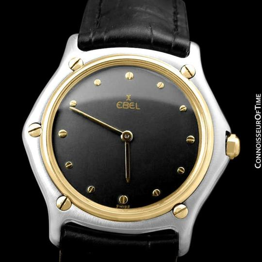 Ebel Ebel Classic Wave Mens Unisex Watch - Stainless Steel and 18K Gold Image 1