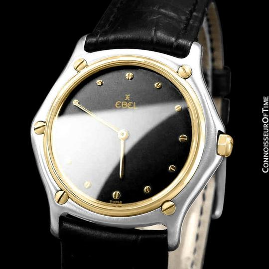 Ebel Ebel Classic Wave Mens Unisex Watch - Stainless Steel and 18K Gold Image 2