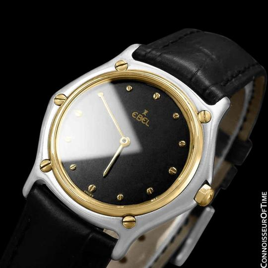 Ebel Ebel Classic Wave Mens Unisex Watch - Stainless Steel and 18K Gold Image 3