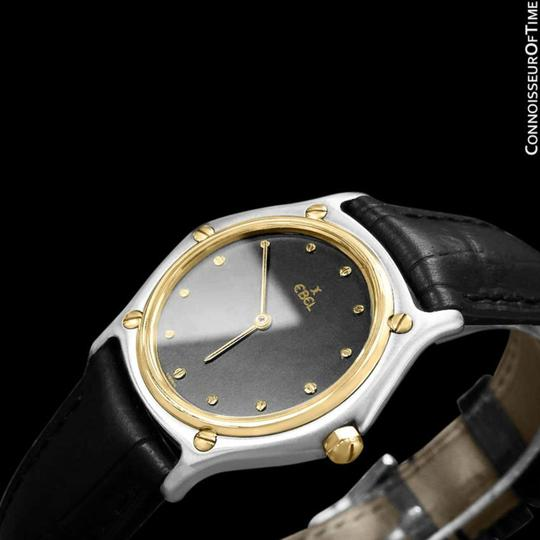 Ebel Ebel Classic Wave Mens Unisex Watch - Stainless Steel and 18K Gold Image 4