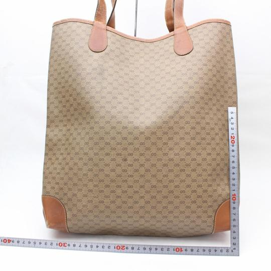 Gucci Sherry Interlocking Web Ophidia Shopping Tote in Brown Image 5
