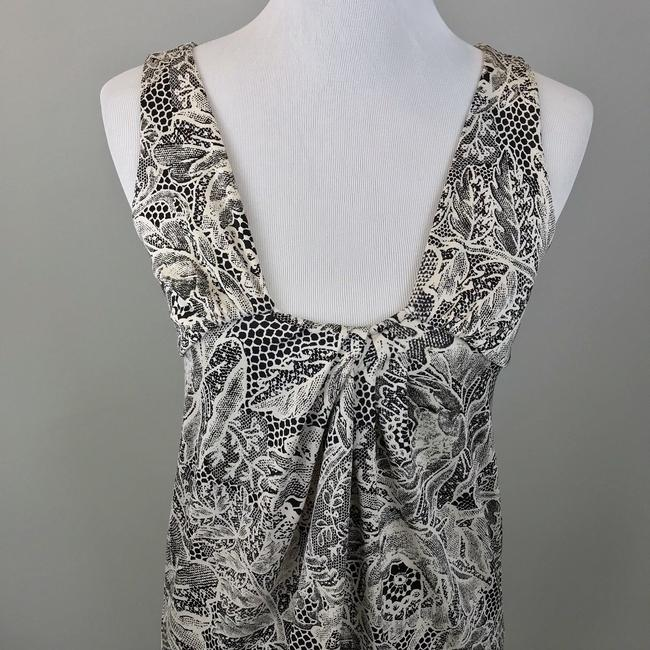 Diane von Furstenberg short dress Dvf Floral Honecomb Sleeveless on Tradesy Image 2