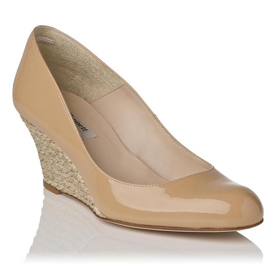 L.K. Bennett Natural/Nude Wedges Image 0