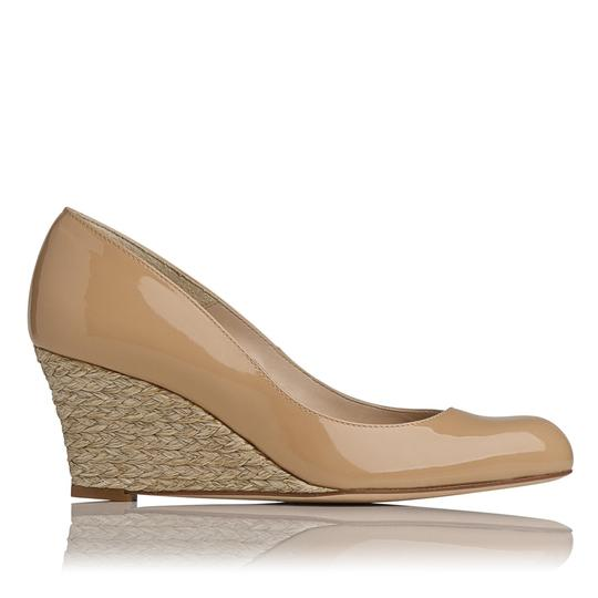 L.K. Bennett Natural/Nude Wedges Image 1