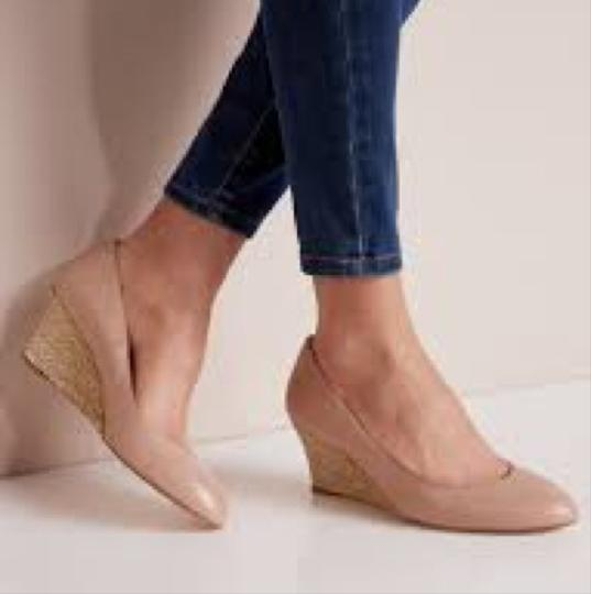 L.K. Bennett Natural/Nude Wedges Image 2