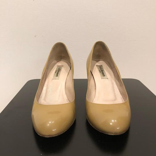 L.K. Bennett Natural/Nude Wedges Image 6