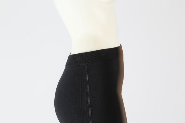 T by Alexander Wang Formal Stretchy Mini Skirt Black Image 4