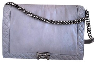 Chanel Reverso Calfskin Shoulder Bag