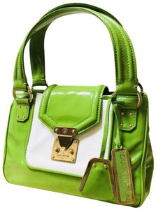 Louis Vuitton Kate Marie Mary Alma Cite Satchel in Green