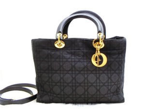 Dior Gst Quilted Chanel Lady Shoulder Bag