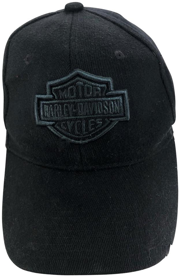 Harley Davidson Harley Davidson Baseball Cap Black Gray Embroidery  Adjustable ... e18d360dd95a