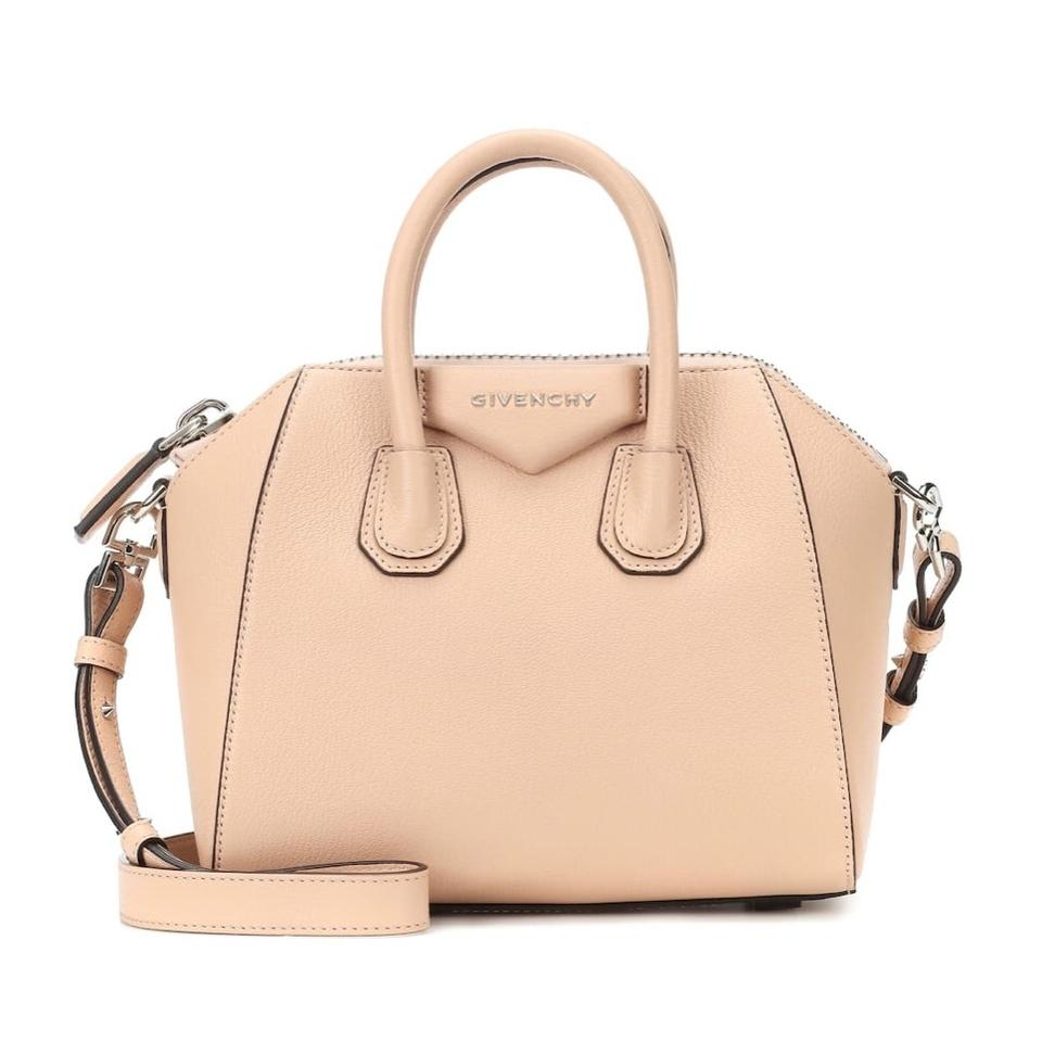 b28938998e Givenchy Antigona Mini Shoulder Beige Leather Satchel - Tradesy
